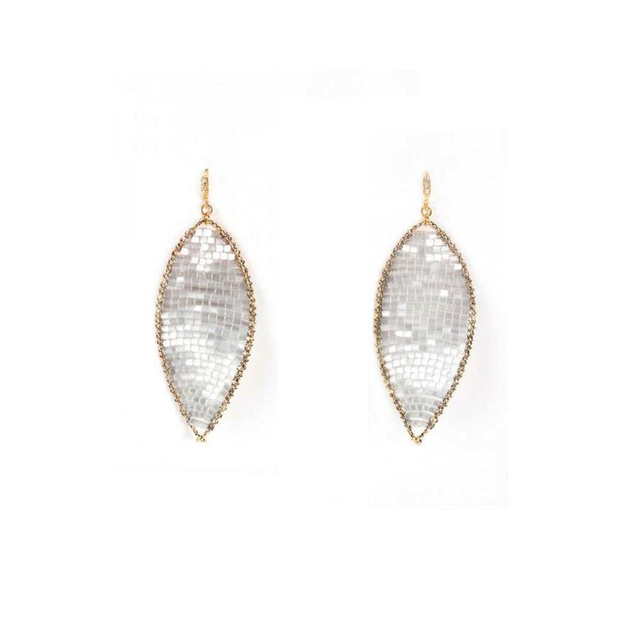 Twist Pearl Drop Earrings