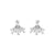 Silver Ear Hugger Earrings