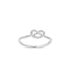 White Gold Diamond Infinity Ring