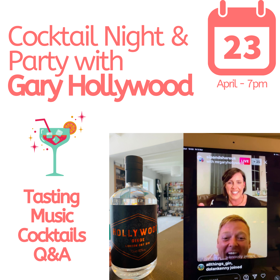 Cocktail Party & Meet and Greet with Gary Hollywood