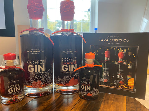 Lava Spirits collection coffee gin