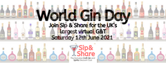 World gin day with sip & share