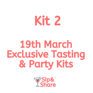 Kit 2 - Members Party Tasting Kit - Little Quaker - 19th March