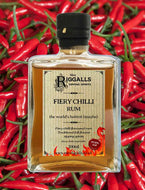 Mrs.Riggall's 200ml 37.5% ABV – Hot & Fiery Chilli Rum