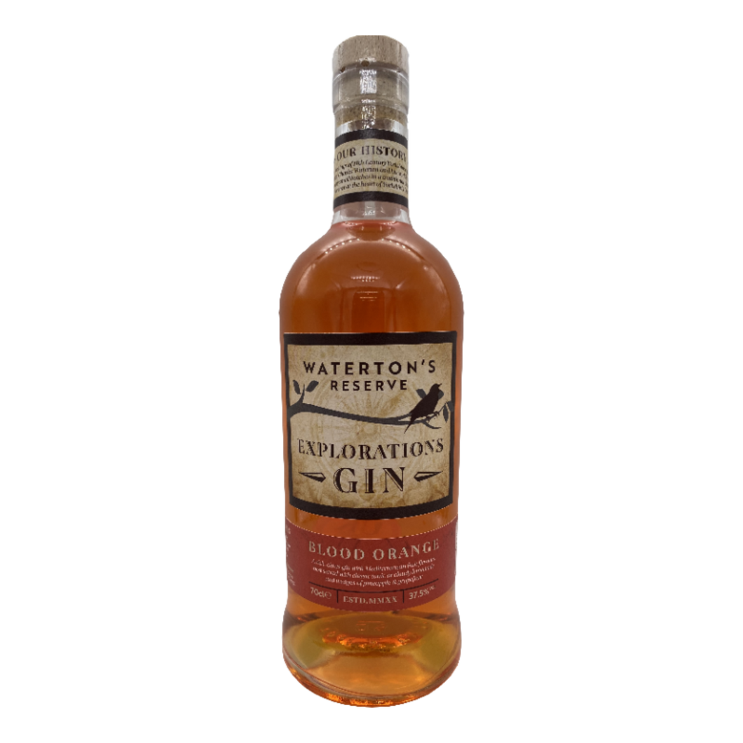 25% Off - Waterton's Reserve, Blood Orange Explorations Gin 70cl