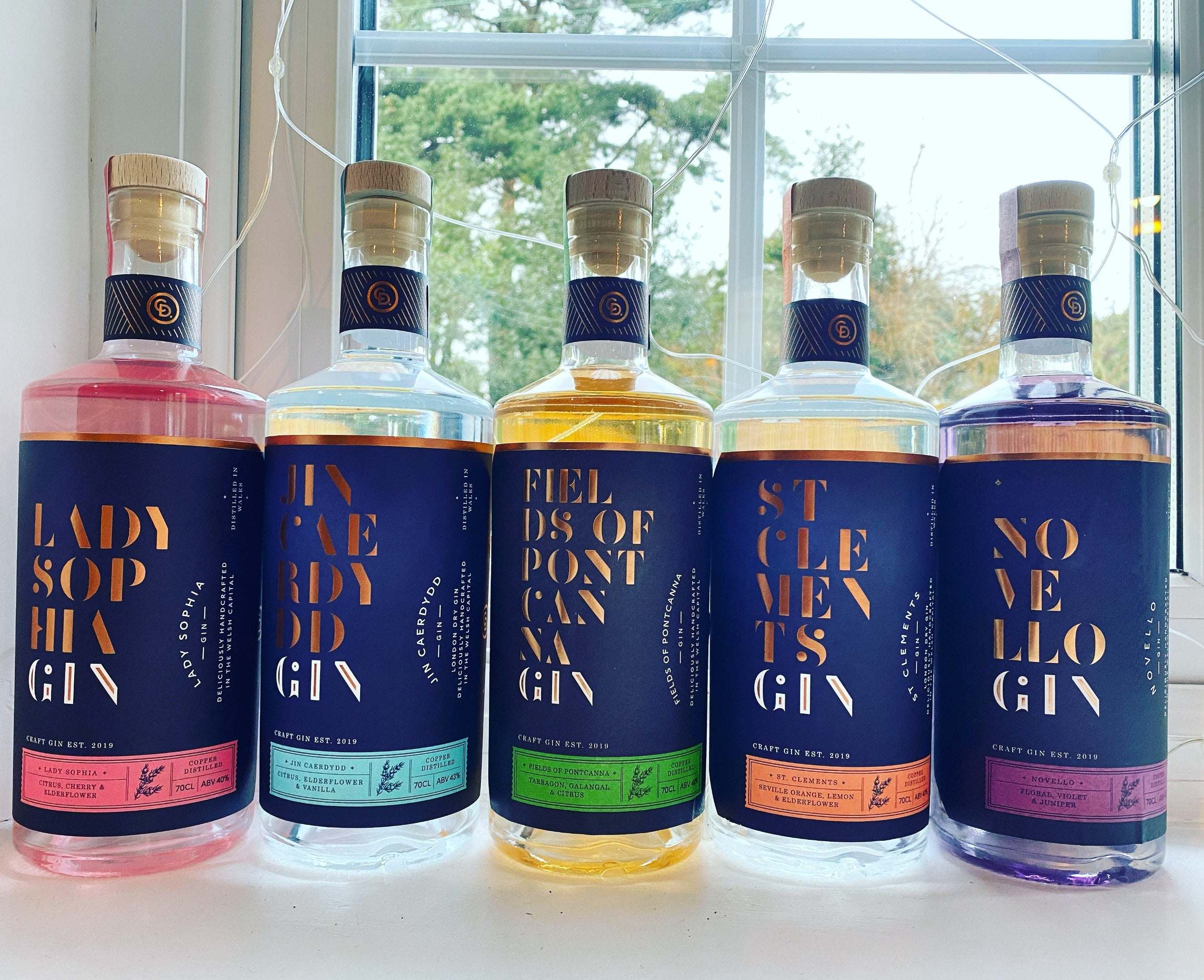 10% Off - Cardiff Distillery, St Clements Gin 70cl