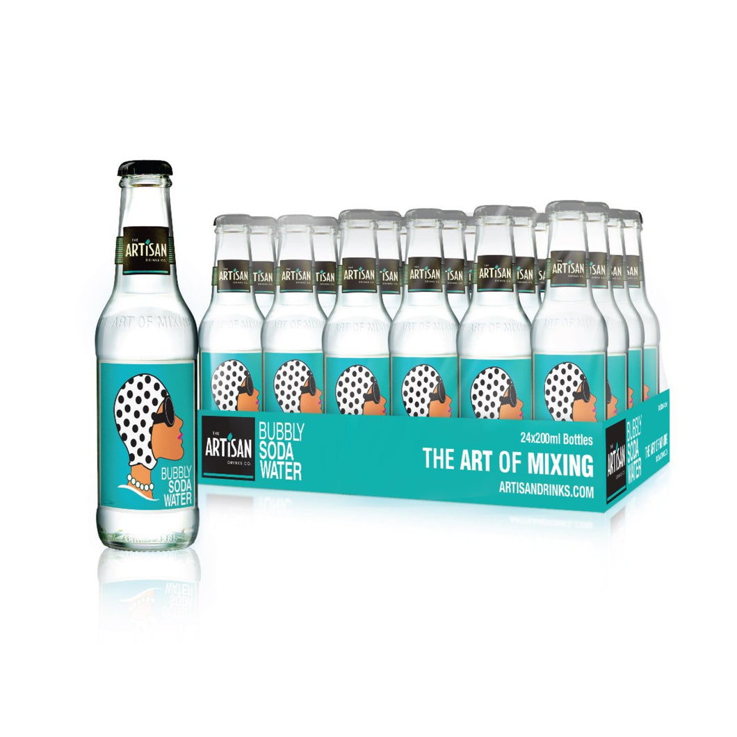 24 x Bubbly Soda Water (inc delivery)