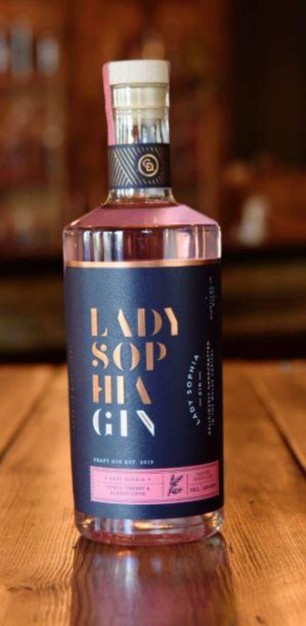 10% Off - Cardiff Distillery, Lady Sophia Gin 70cl