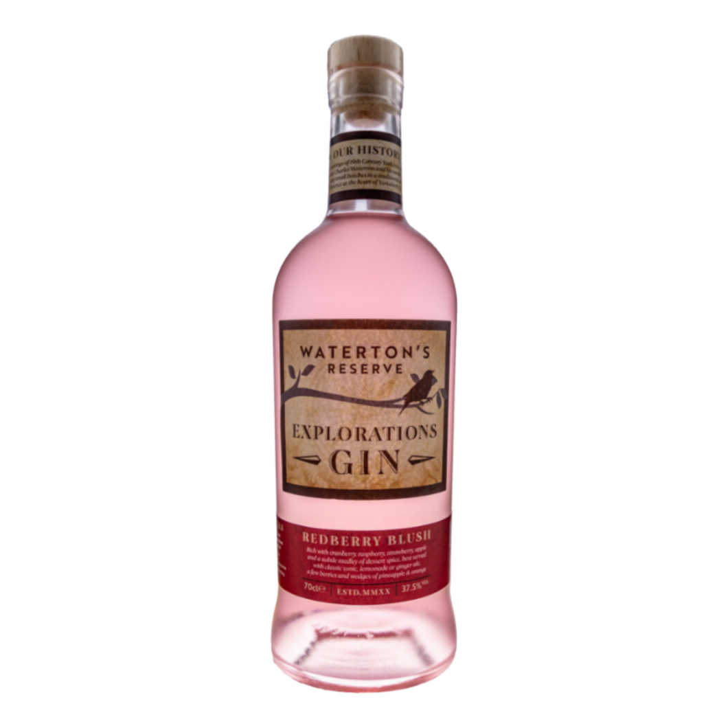 25% Off - Waterton's Reserve, Redberry Blush Pink Gin 70cl