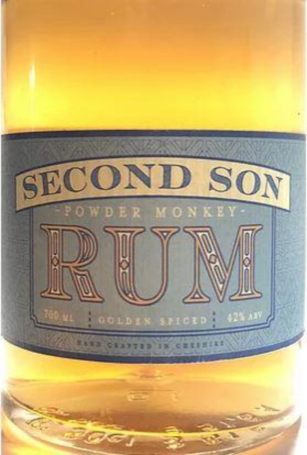 10% Off, Second Son Powder Monkey Spiced Rum