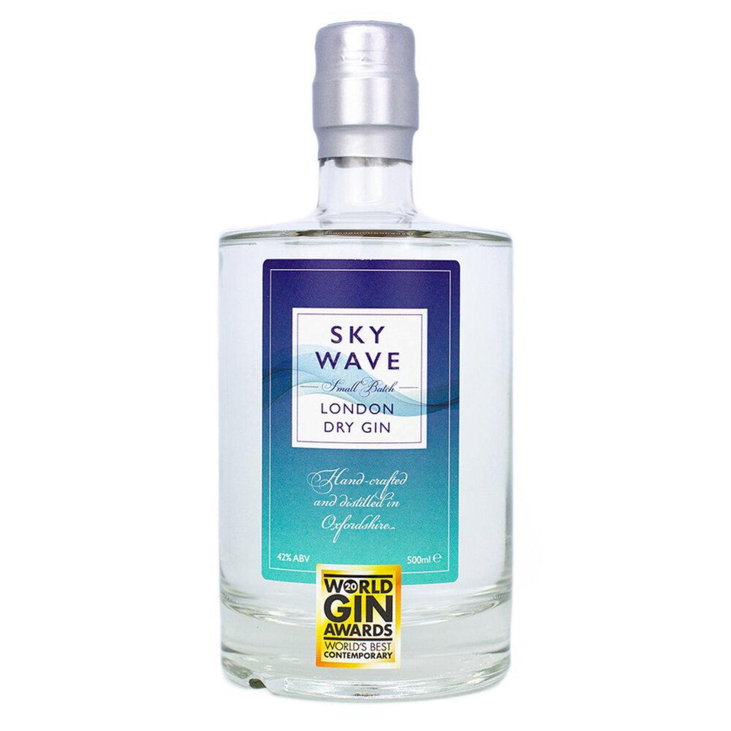 15% Off – Sky Wave Signature London Dry Gin – The World's Best Contemporary Gin