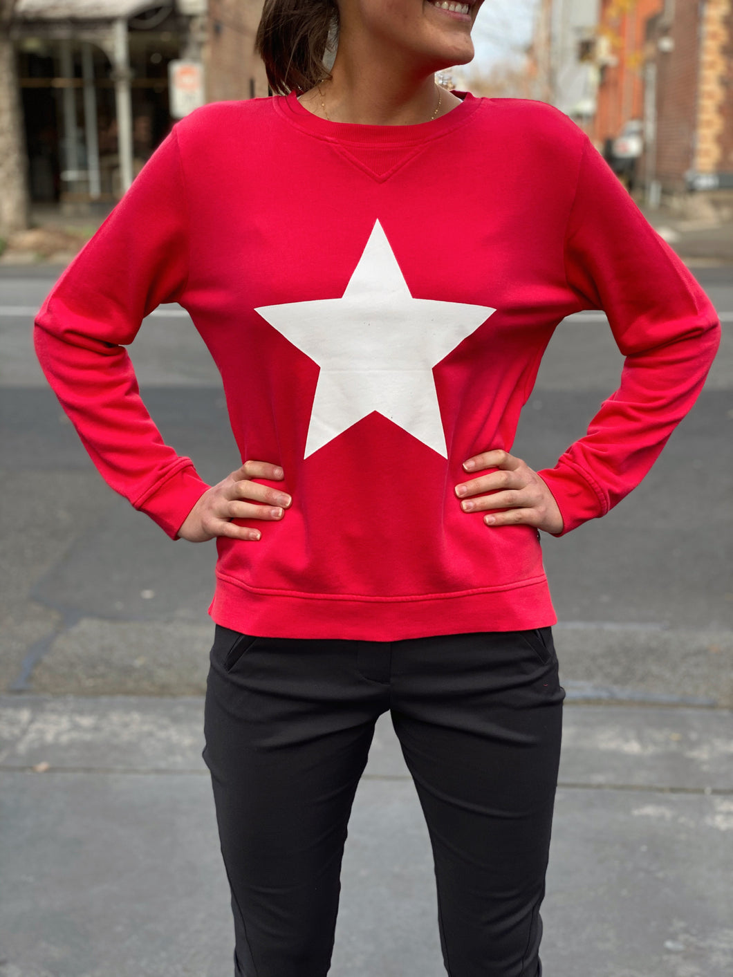 Star Sweat Red