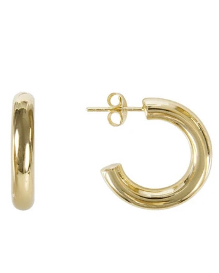 Basic Gold Hoops by Fairley