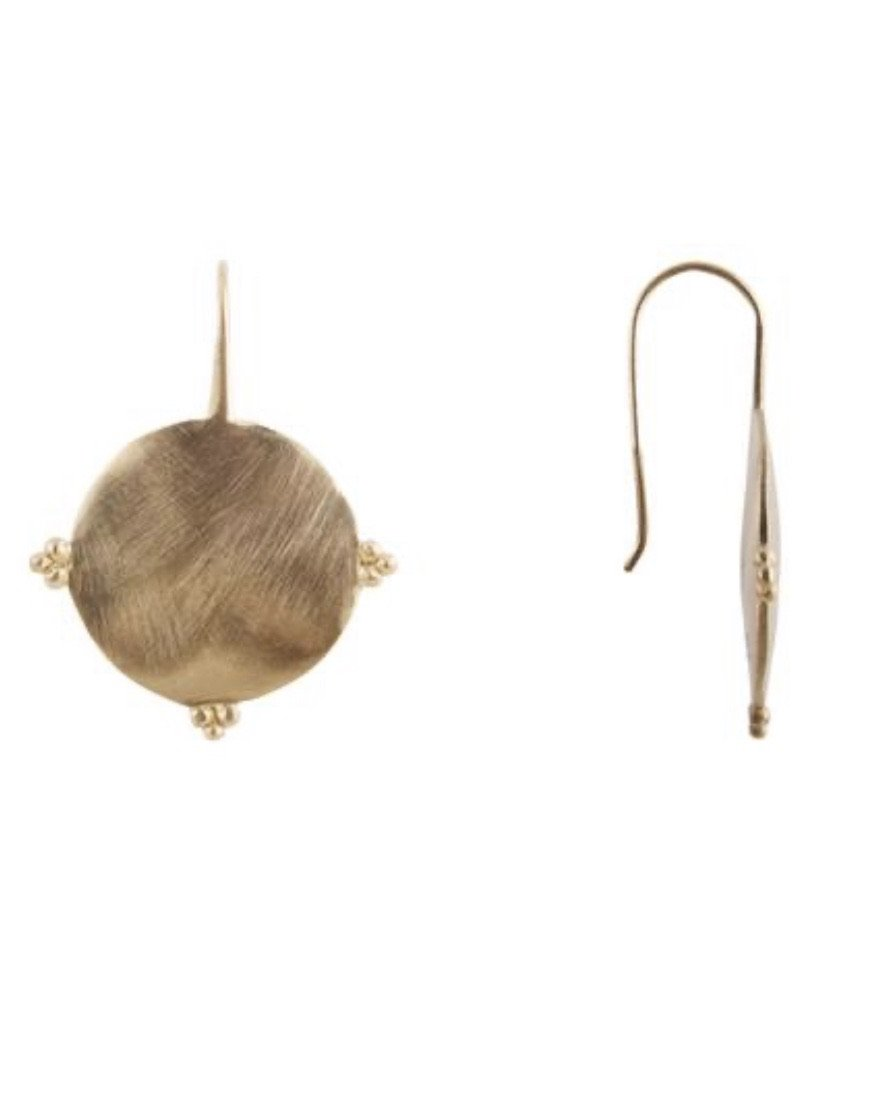 Gold Florence Earring by Fairley