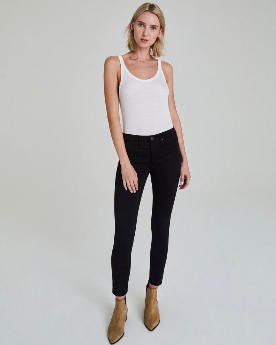 The Legging Ankle by AG in Black