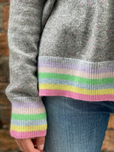 Load image into Gallery viewer, Rainbow Rib Sweater Confetti by Alessandra