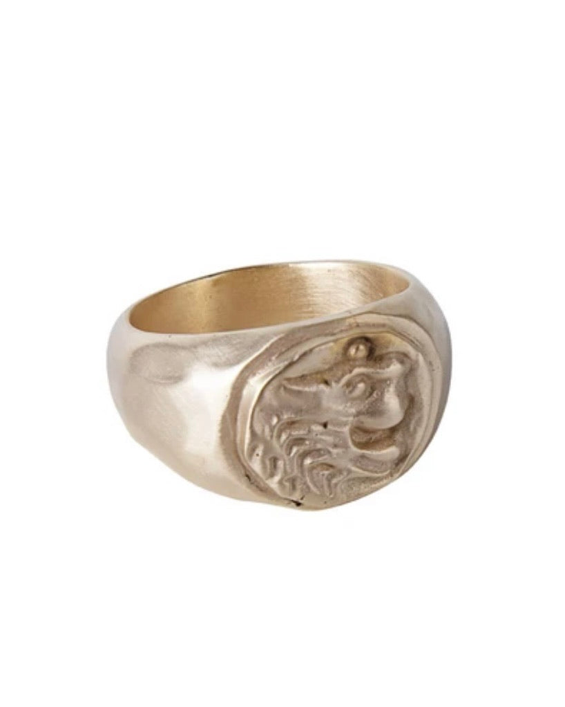 Aker Lion Ring by Fairley