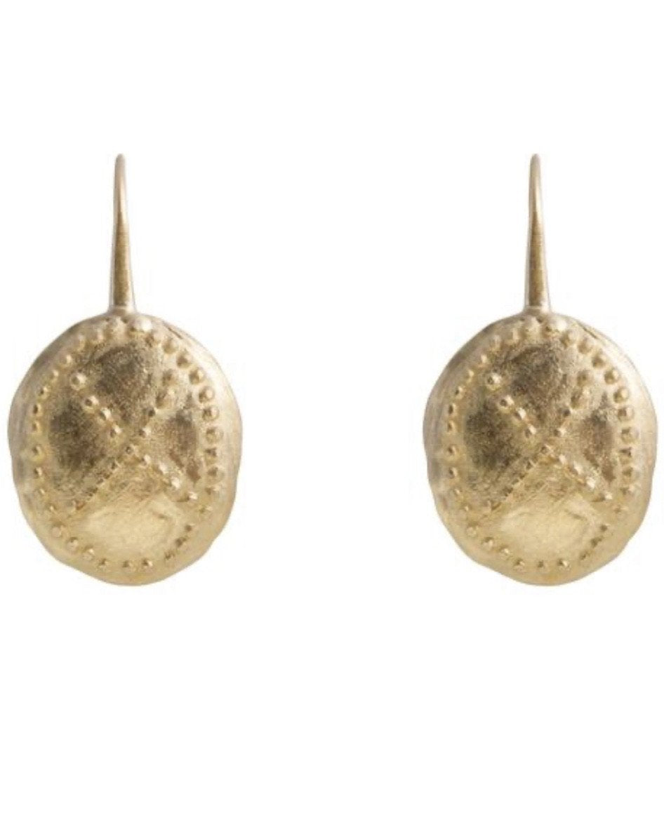 Warrior Earrings - Gold by Fairley