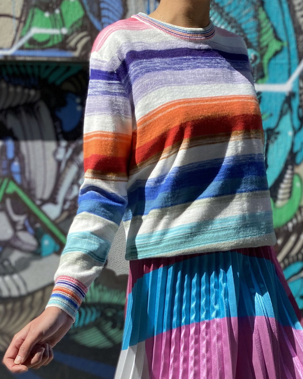 Spring Stripe Knit by Frankie's Melbourne
