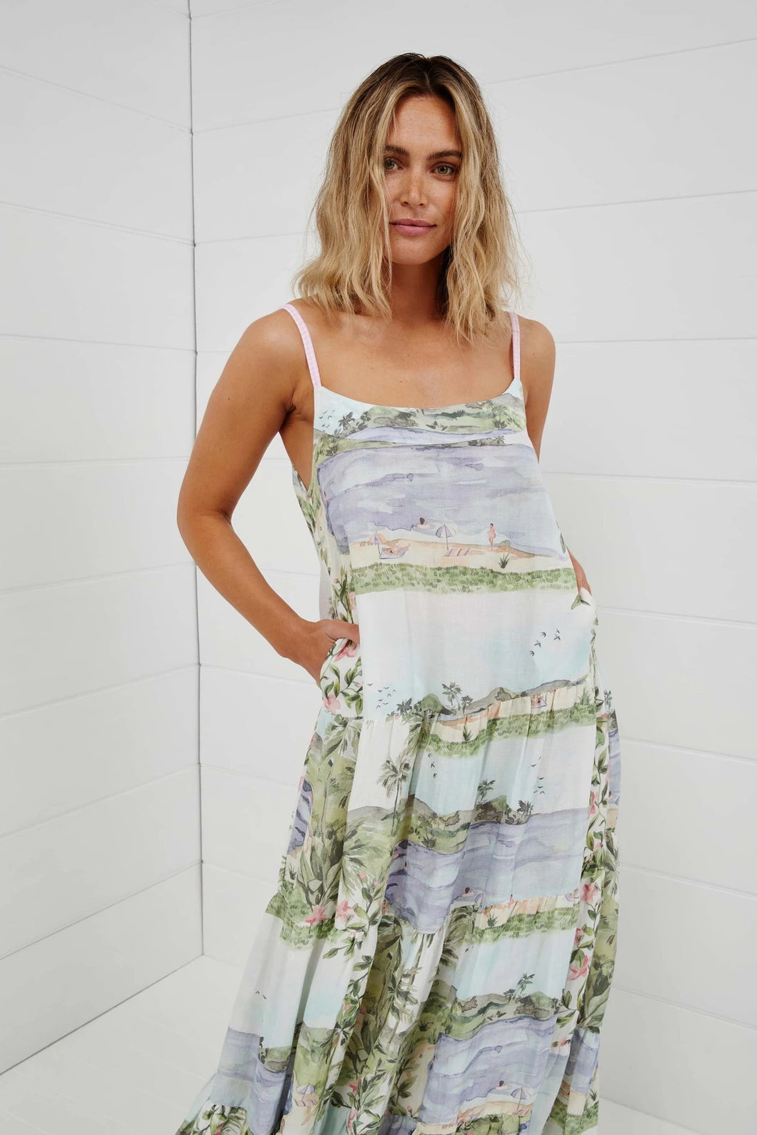 The National Park Maxi Dress by Binny