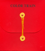 Load image into Gallery viewer, Farbenzug (Color Train) - Artist Book by Anne Labovitz and William Gamble