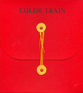 Farbenzug (Color Train) - Artist Book by Anne Labovitz and William Gamble