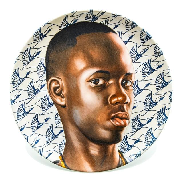 Plate Set by Kehinde Wiley