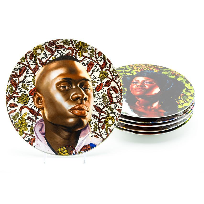 Idrissa Mdiaye (Plate) by Kehinde Wiley