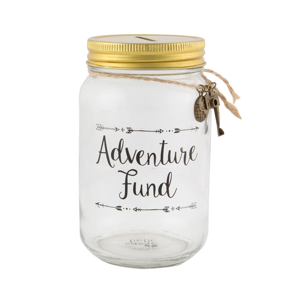Sass & Belle - Adventure Fund Money Jar