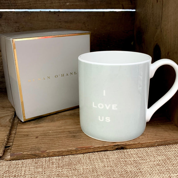 "Susan O'Hanlon - ""I Love Us"" - Fine Bone China Mug"