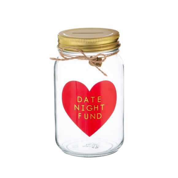 Sass & Belle - Date Night Fund Money Jar