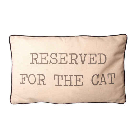 Sass & Belle - Reserved For The Cat Cushion