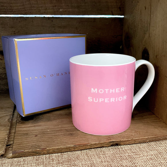 "Susan O'Hanlon - ""Mother Superior"" - Fine Bone China Mug"