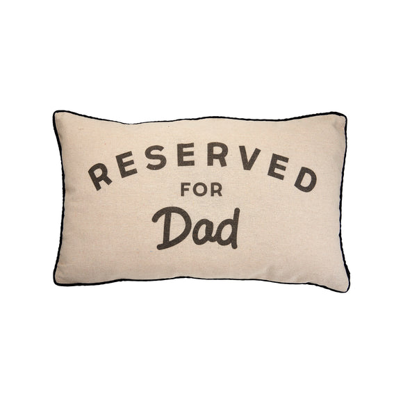 Sass & Belle - Reserved For Dad Decorative Cushion