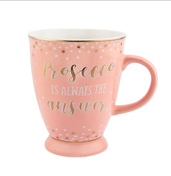 Sass & Belle - Prosecco Party Pink Mug