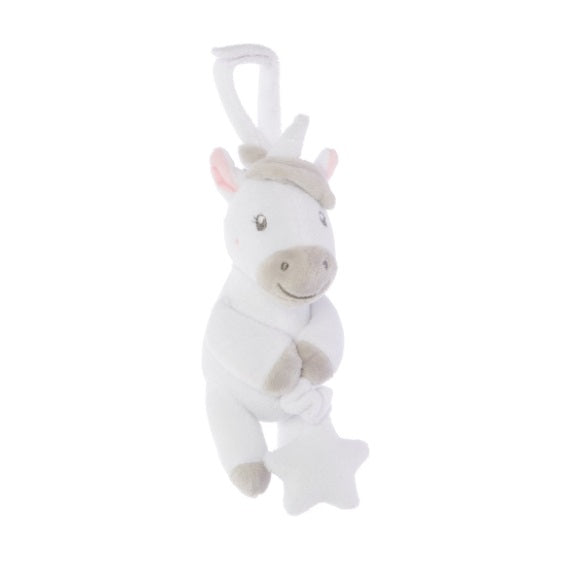 Sass & Belle - Evie Unicorn Pull Down Baby Toy