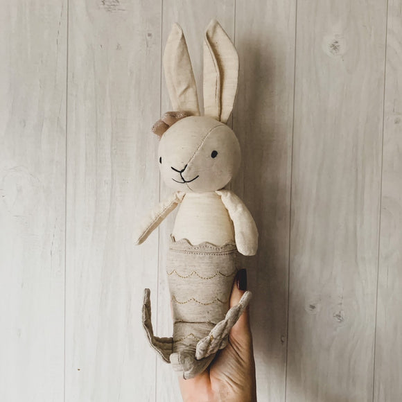 Jellycat Cream Merbunny Soft Toy