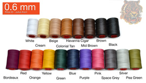 "0.6mm Ritza 25 Polyester ""Tiger"" Thread - (25M Length) **If Buy 5 get 1 free - Rocky Mountain Leather Supply"