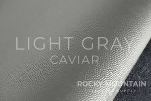 "Alran 🇫🇷- Chevre ""Caviar"" - Goat Leather - 2.5oz (1.0 mm)"