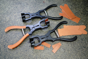 Amy Roke - Leather Edge Clamp / Pliers