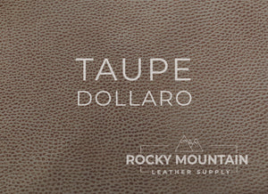Conceria Walpier 🇮🇹- Dollaro - Veg Tanned Leather (Many Colors) - 5oz (2.0mm)