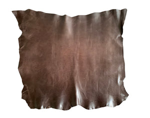 "Conceria Walpier 🇮🇹 - Mud - Soft ""Rustic"" Veg Tanned Leather - 5oz (2.0mm)"