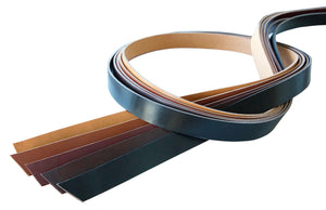 Hermann Oak 🇺🇸 - English Bridle Leather - Belt Straps (Many Colors) - 8/10 oz
