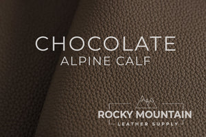 Alpine Shrunken Calf 🇫🇷 - Natural Shrunken Calfskin Leather - 5.5oz (2.2-2.4mm)