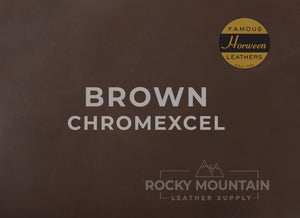 "Horween 🇺🇸- ""Original"" Chromexcel® CXL - Pull Up Chrome Tanned Leather"