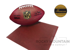 Horween 🇺🇸- NFL Football - Chrome Tanned Leather