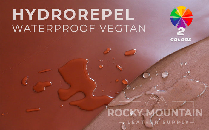 Hydro Repel - Waterproof Veg Tanned Leather - 4.5oz (1.8mm)