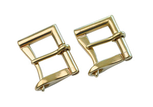 "Belt Buckles - Japanese ""Quick Release"" Premium Fireman Buckle w/ Tension (Solid Brass) - 38mm (1.5"")"
