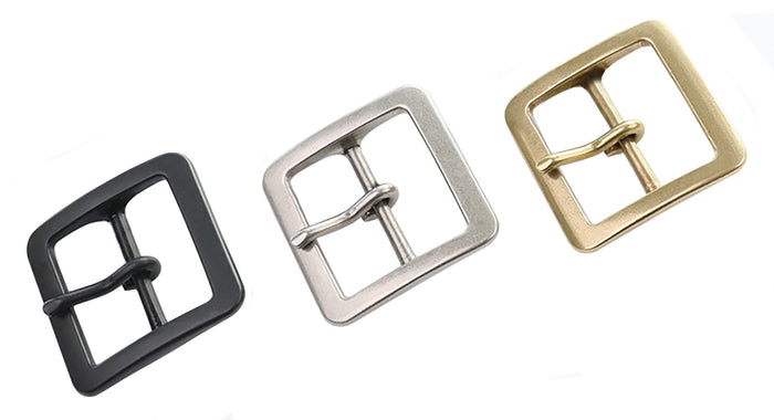 "Belt Buckles -  Japanese ""Tetra"" Single Prong (Solid Brass)"
