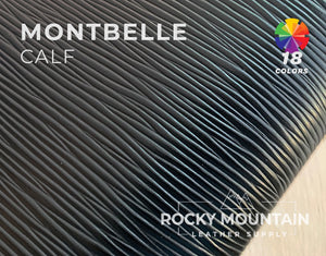 Montbelle 🇫🇷 - Calfskin Leather - 5oz (2.0mm) - Made in France
